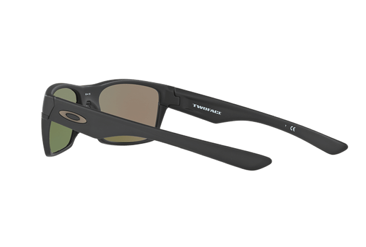 Oakley Twoface Matte Black lente Sapphire Iridium Polarized cod. OO9189-3560 - Image 4
