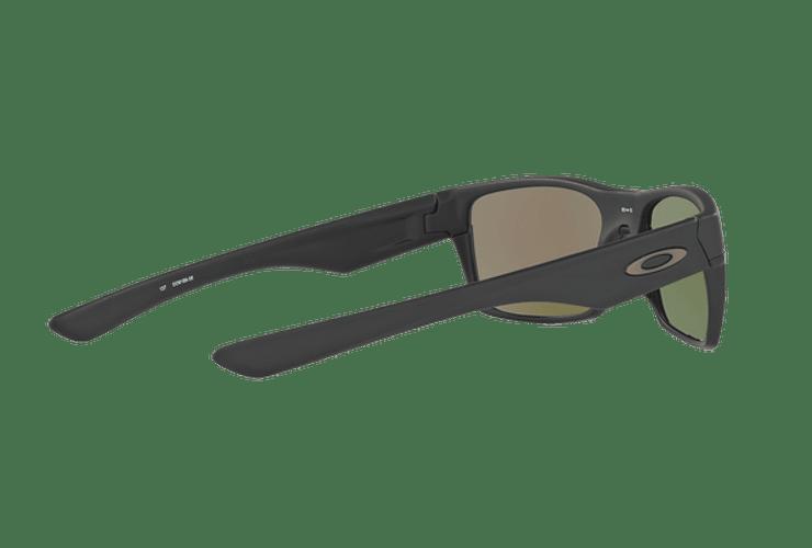Oakley Twoface Matte Black lente Sapphire Iridium Polarized cod. OO9189-3560 - Image 8
