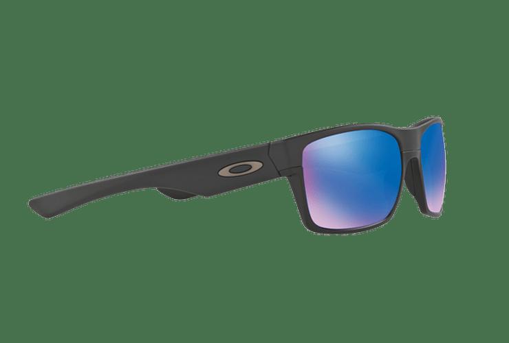 Oakley Twoface Matte Black lente Sapphire Iridium Polarized cod. OO9189-3560 - Image 10