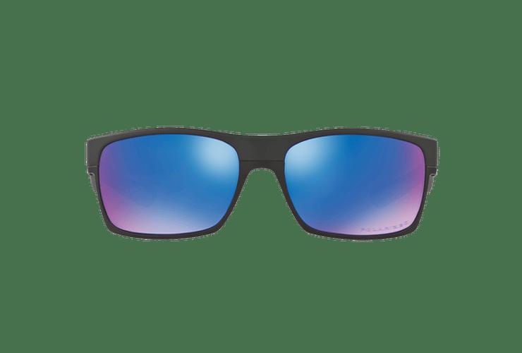 Oakley Twoface Matte Black lente Sapphire Iridium Polarized cod. OO9189-3560 - Image 12
