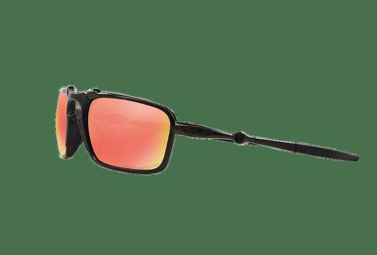 Oakley Badman Dark Carbon lente Ruby Iridium Polarized cod. OO6020-0360 - Image 2