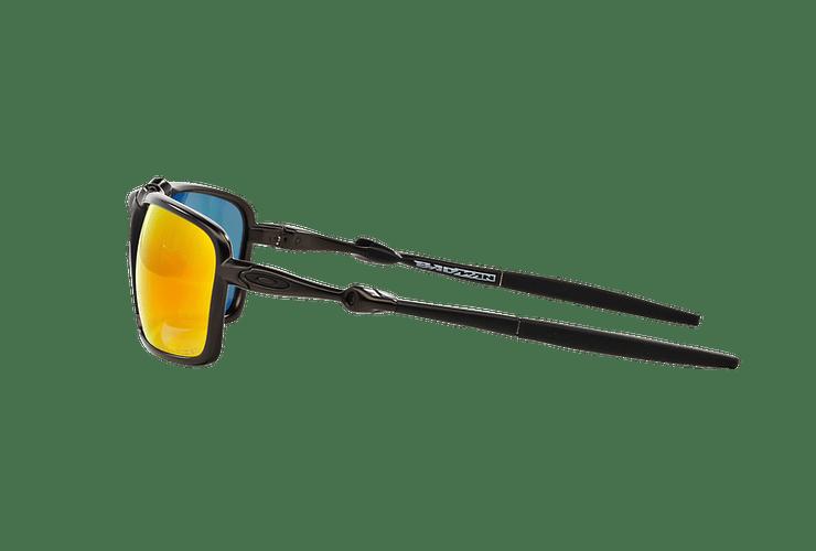 Oakley Badman Dark Carbon lente Ruby Iridium Polarized cod. OO6020-0360 - Image 3