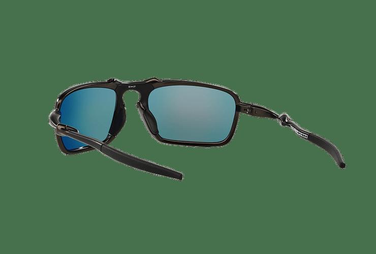 Oakley Badman Dark Carbon lente Ruby Iridium Polarized cod. OO6020-0360 - Image 5