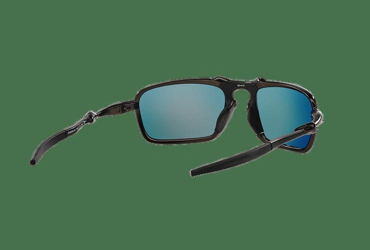 Oakley Badman Dark Carbon lente Ruby Iridium Polarized cod. OO6020-0360 - Image 7