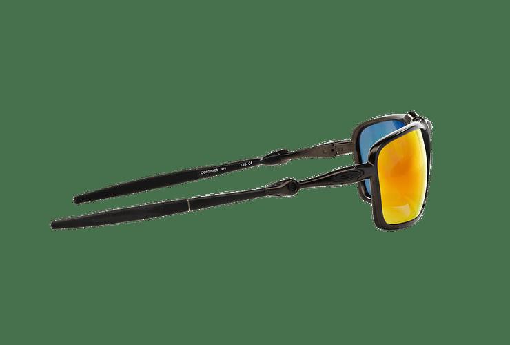 Oakley Badman Dark Carbon lente Ruby Iridium Polarized cod. OO6020-0360 - Image 9