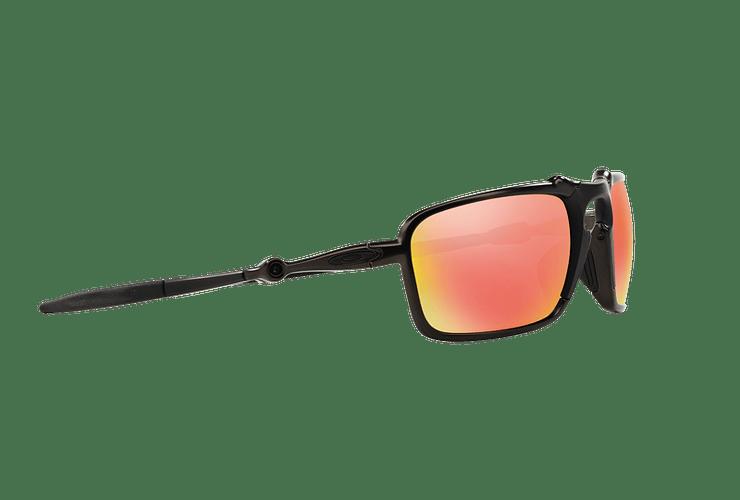 Oakley Badman Dark Carbon lente Ruby Iridium Polarized cod. OO6020-0360 - Image 10