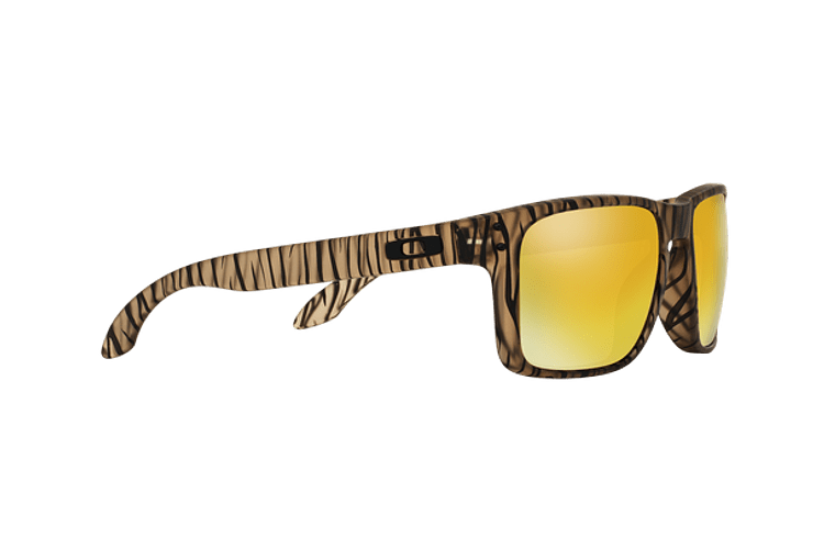 Oakley Holbrook Matte Sepia lente 24K Iridium cod. OO9102-9955 - Image 10