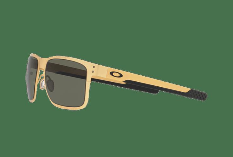 Oakley Holbrook Metal Satin Gold lente Dark Grey cod. OO4123-0855 - Image 2