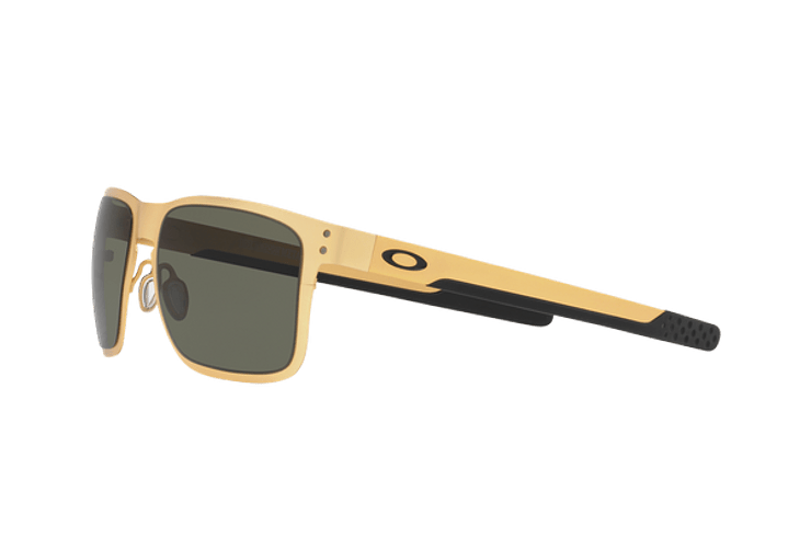 Oakley Holbrook Metal Satin Gold lente Dark Grey cod. OO4123-0855 - Image 2
