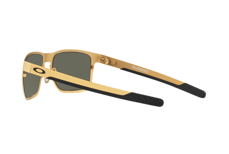 Oakley Holbrook Metal Satin Gold lente Dark Grey cod. OO4123-0855 - Image 4