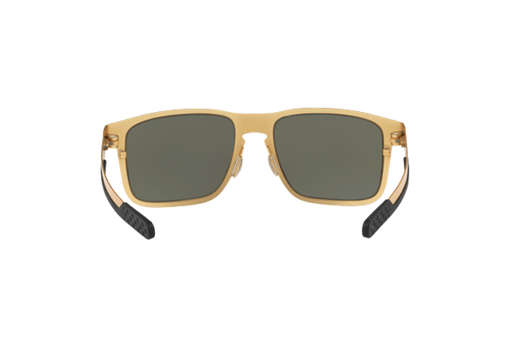 Oakley Holbrook Metal Satin Gold lente Dark Grey cod. OO4123-0855 - Image 6