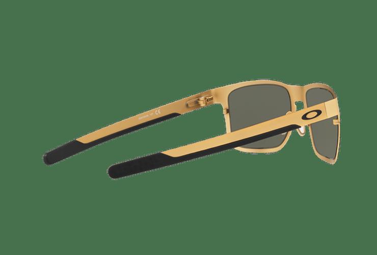Oakley Holbrook Metal Satin Gold lente Dark Grey cod. OO4123-0855 - Image 8