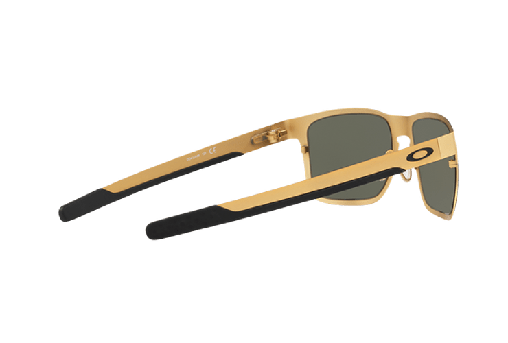 Oakley Holbrook Metal Satin Gold lente Dark Grey cod. OO4123-0855 - Image 8