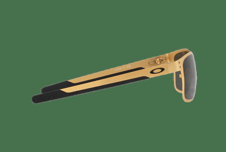 Oakley Holbrook Metal Satin Gold lente Dark Grey cod. OO4123-0855 - Image 9