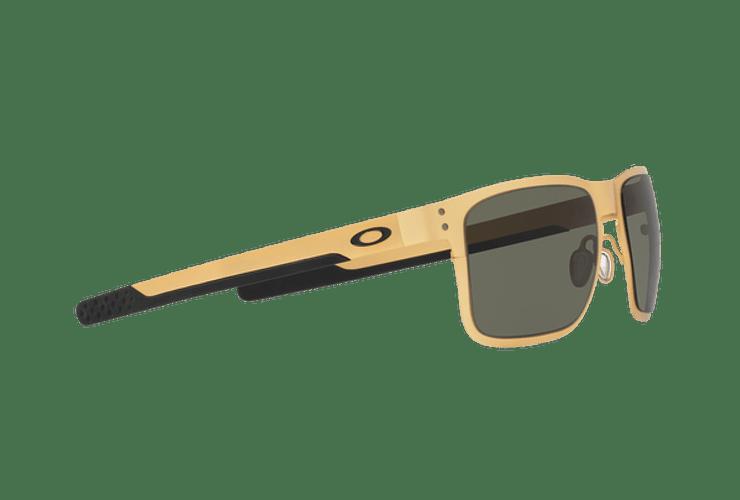Oakley Holbrook Metal Satin Gold lente Dark Grey cod. OO4123-0855 - Image 10