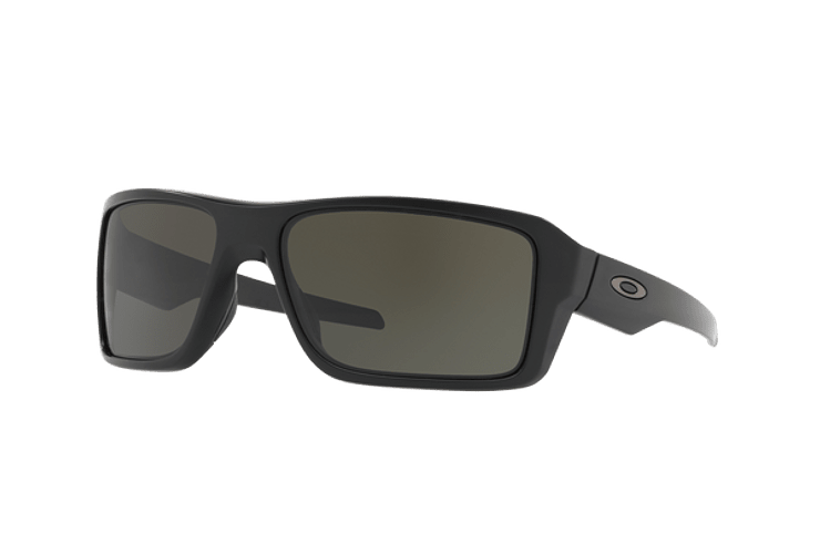 Oakley Double Edge Matte Black lente Dark Grey cod. OO9380-0166 - Image 1