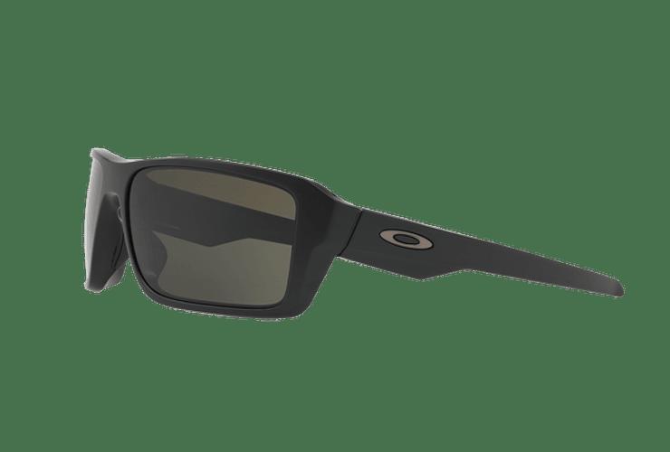 Oakley Double Edge Matte Black lente Dark Grey cod. OO9380-0166 - Image 2