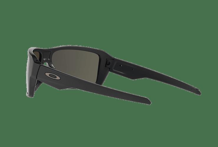 Oakley Double Edge Matte Black lente Dark Grey cod. OO9380-0166 - Image 4