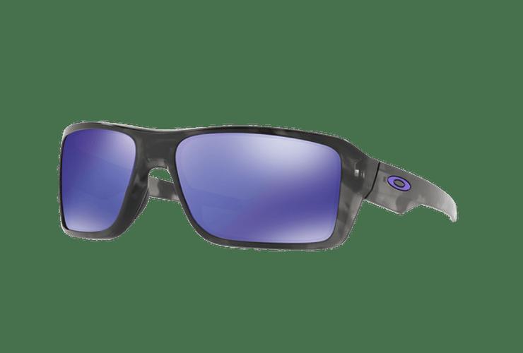 Oakley Double Edge Matte Black Tortoise lente Violet Iridium cod. OO9380-0466 - Image 1