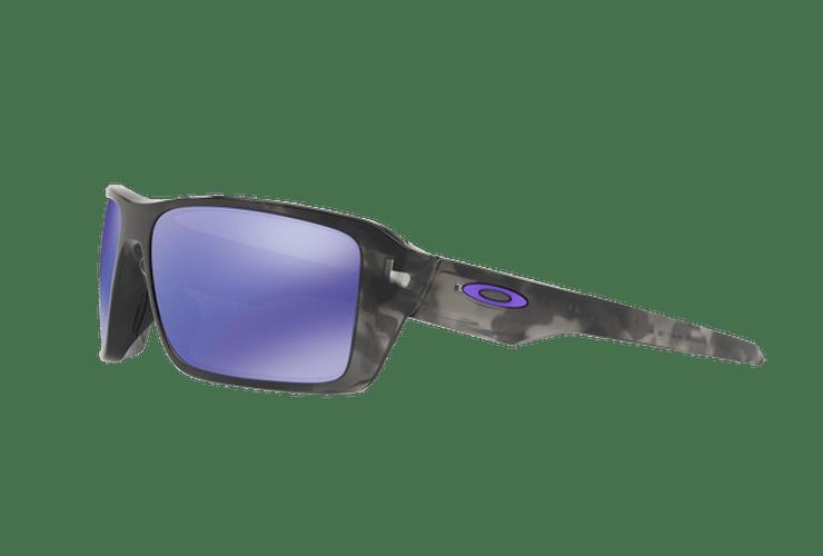 Oakley Double Edge Matte Black Tortoise lente Violet Iridium cod. OO9380-0466 - Image 2