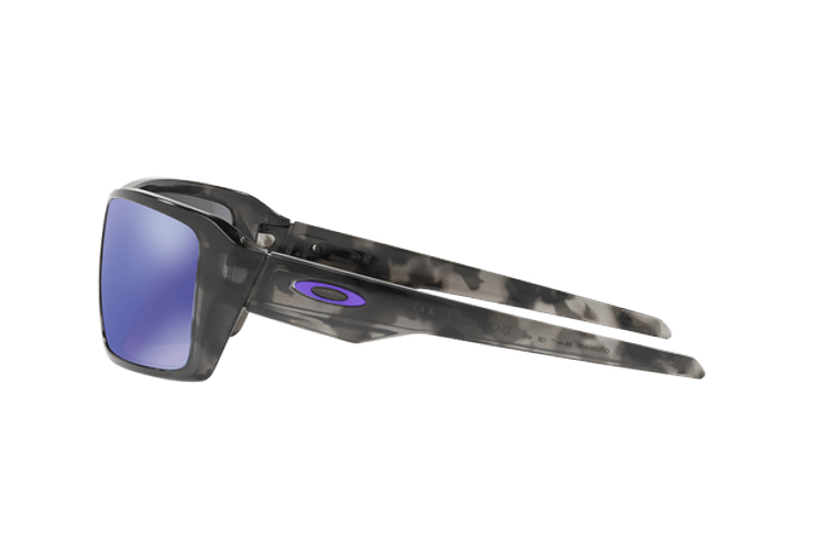 Oakley Double Edge Matte Black Tortoise lente Violet Iridium cod. OO9380-0466 - Image 3