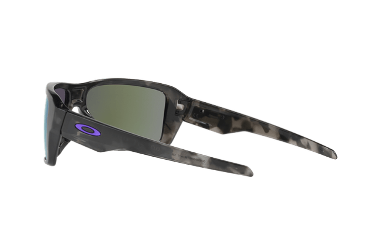 Oakley Double Edge Matte Black Tortoise lente Violet Iridium cod. OO9380-0466 - Image 4