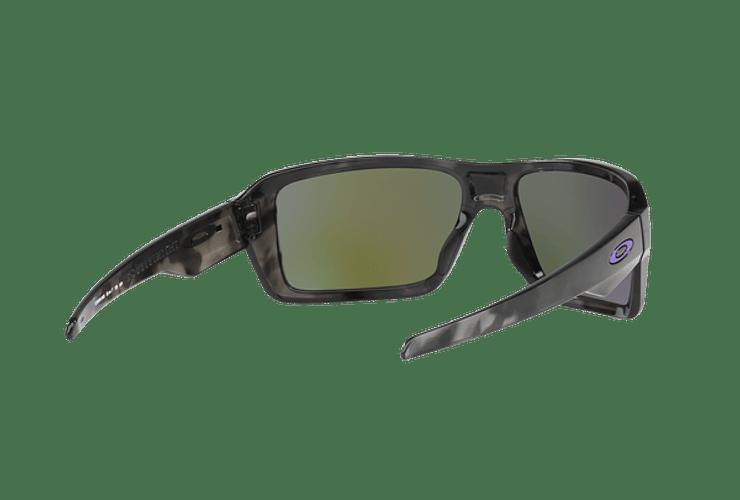 Oakley Double Edge Matte Black Tortoise lente Violet Iridium cod. OO9380-0466 - Image 7