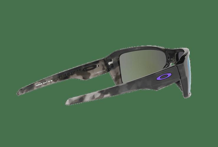 Oakley Double Edge Matte Black Tortoise lente Violet Iridium cod. OO9380-0466 - Image 8