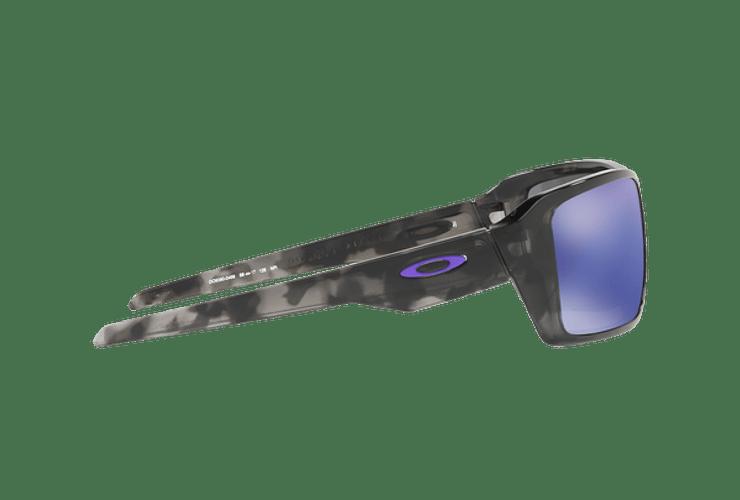 Oakley Double Edge Matte Black Tortoise lente Violet Iridium cod. OO9380-0466 - Image 9