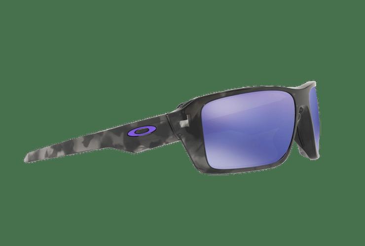 Oakley Double Edge Matte Black Tortoise lente Violet Iridium cod. OO9380-0466 - Image 10