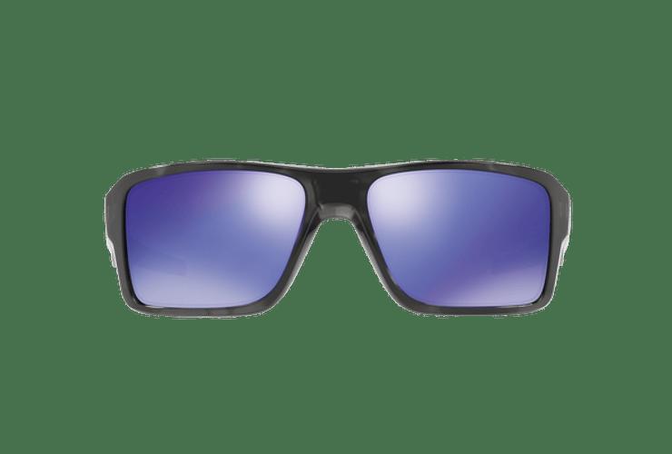Oakley Double Edge Matte Black Tortoise lente Violet Iridium cod. OO9380-0466 - Image 12