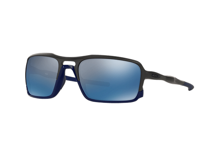 Oakley Triggerman Steel / Matte Navy lente Ice Iridium cod. OO9266-0959 - Image 1