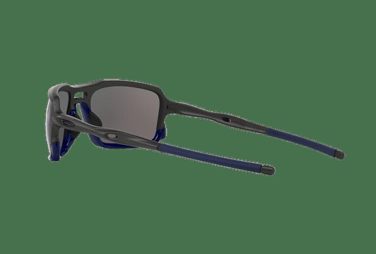 Oakley Triggerman Steel / Matte Navy lente Ice Iridium cod. OO9266-0959 - Image 4