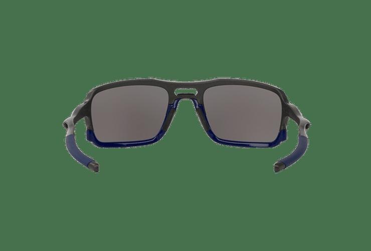 Oakley Triggerman Steel / Matte Navy lente Ice Iridium cod. OO9266-0959 - Image 6