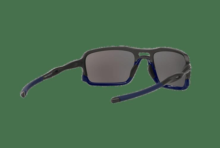 Oakley Triggerman Steel / Matte Navy lente Ice Iridium cod. OO9266-0959 - Image 7