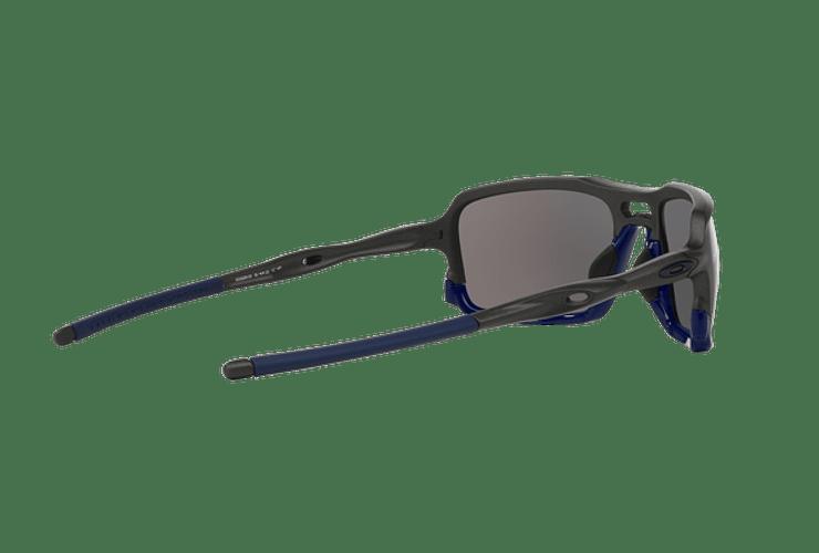 Oakley Triggerman Steel / Matte Navy lente Ice Iridium cod. OO9266-0959 - Image 8
