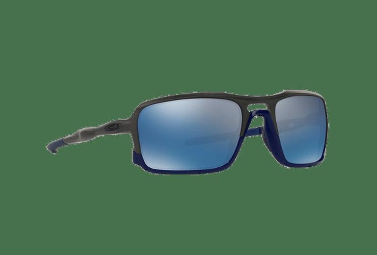 Oakley Triggerman Steel / Matte Navy lente Ice Iridium cod. OO9266-0959 - Image 11