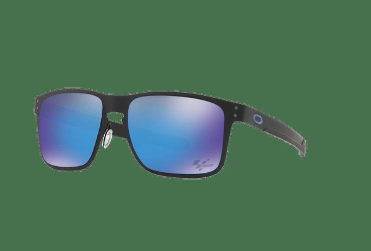 Oakley Holbrook Metal Ed. Especial Moto GP Matte Black lente Sapphire PRIZM cod. OO4123-1055 - Image 1