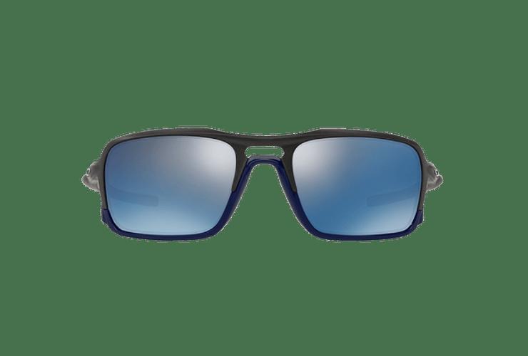Oakley Triggerman Steel / Matte Navy lente Ice Iridium cod. OO9266-0959 - Image 12