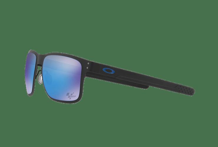 Oakley Holbrook Metal Ed. Especial Moto GP Matte Black lente Sapphire PRIZM cod. OO4123-1055 - Image 2