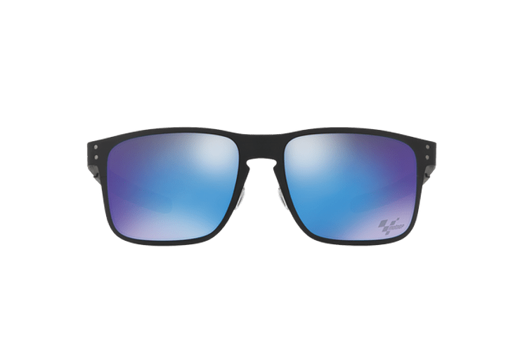 Oakley Holbrook Metal Ed. Especial Moto GP Matte Black lente Sapphire PRIZM cod. OO4123-1055 - Image 12