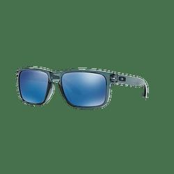 Oakley Holbrook Crystal Black lente Ice Iridium cod. OO9102-4755