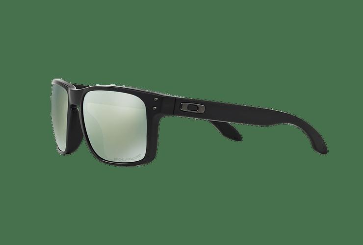 Oakley Holbrook Matte Black lente Emerald Iridium Polarized cod. OO9102-5055 - Image 2