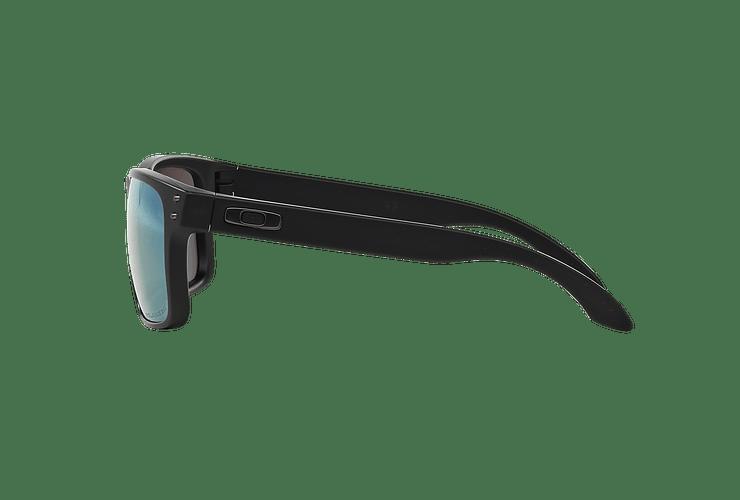 Oakley Holbrook Matte Black lente Emerald Iridium Polarized cod. OO9102-5055 - Image 3