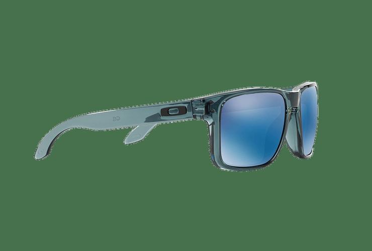 Oakley Holbrook Crystal Black lente Ice Iridium cod. OO9102-4755 - Image 10