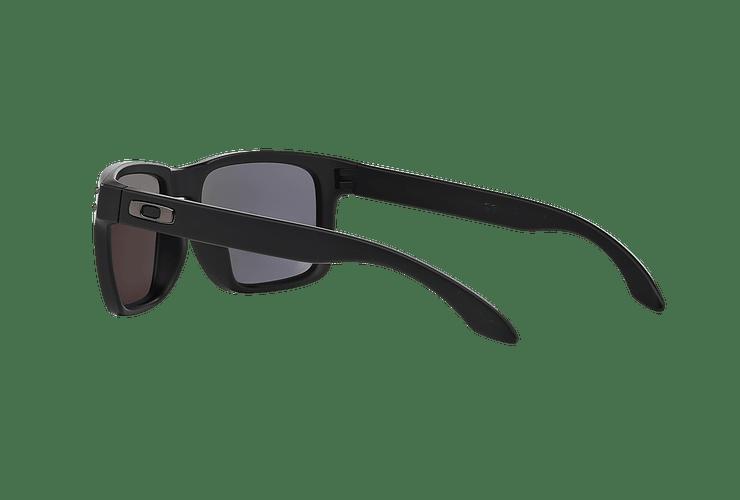 Oakley Holbrook Matte Black lente Emerald Iridium Polarized cod. OO9102-5055 - Image 4