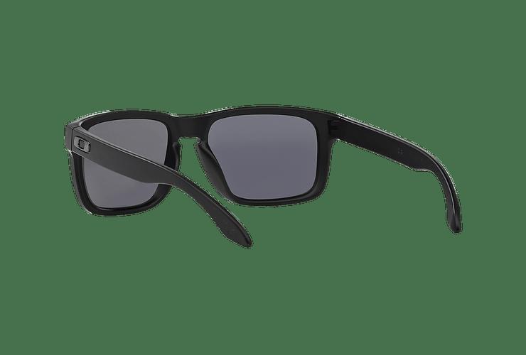 Oakley Holbrook Matte Black lente Emerald Iridium Polarized cod. OO9102-5055 - Image 5