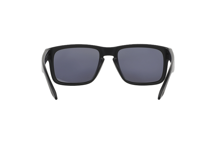 Oakley Holbrook Matte Black lente Emerald Iridium Polarized cod. OO9102-5055 - Image 6