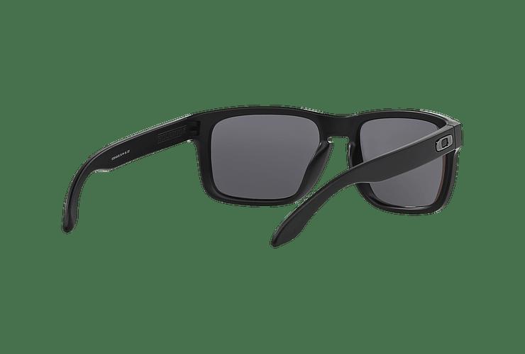 Oakley Holbrook Matte Black lente Emerald Iridium Polarized cod. OO9102-5055 - Image 7