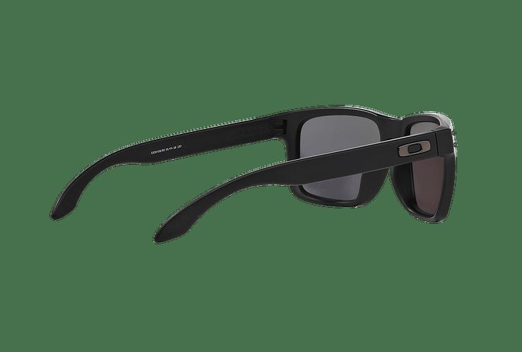 Oakley Holbrook Matte Black lente Emerald Iridium Polarized cod. OO9102-5055 - Image 8